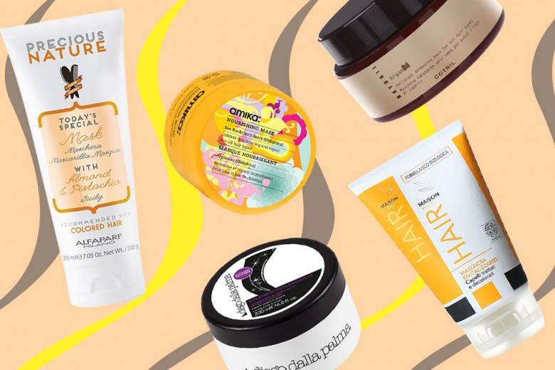 Maschere per capelli: i prodotti must have