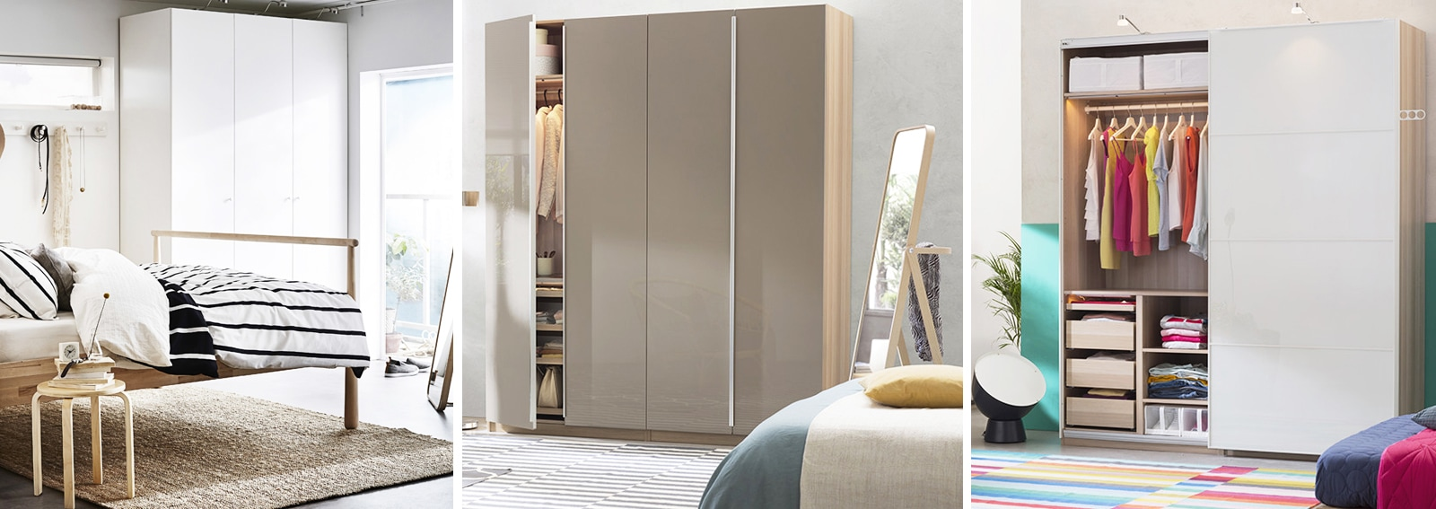 ikea pax il guardaroba componibile per la camera perfetta grazia. Black Bedroom Furniture Sets. Home Design Ideas