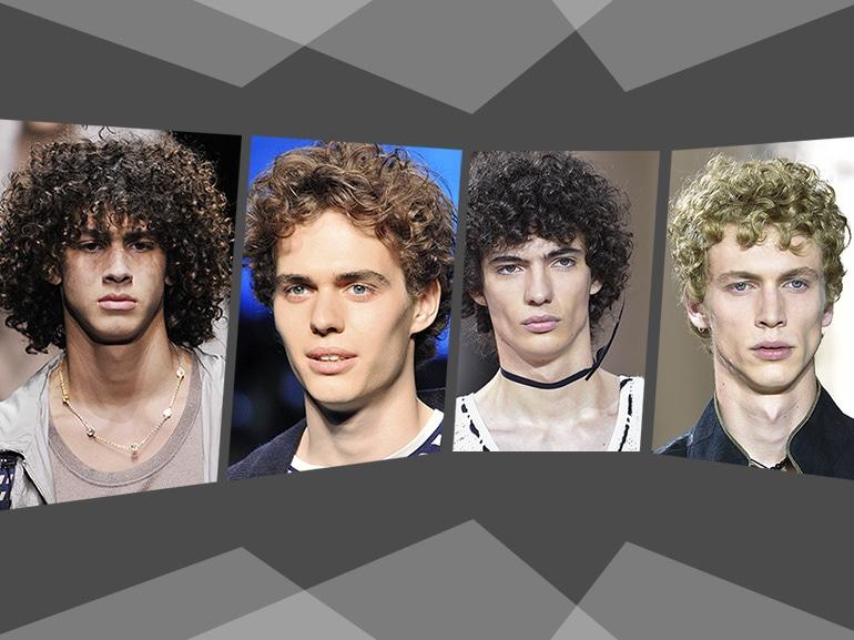 Tagli capelli uomo ricci: le proposte più cool per la PE 2017