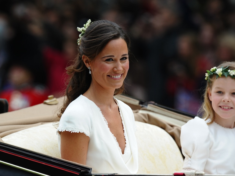 Maid of honour Philippa Middleton and Ma