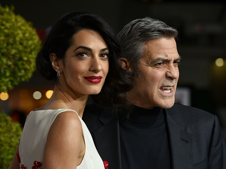 george clooney amal alamuddin red carpet