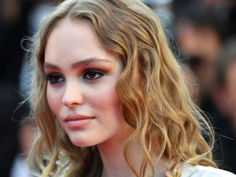 lily depp cannes