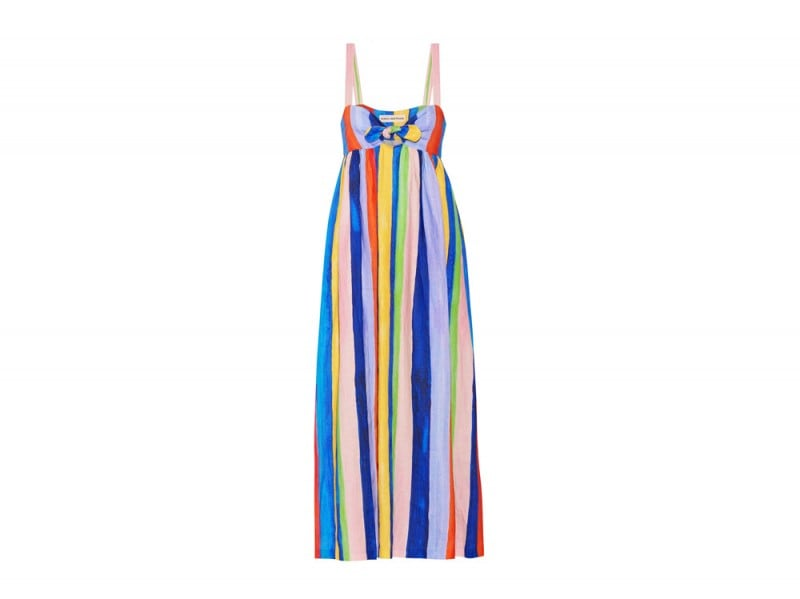 mara-hoffman-abito-lungo-righe-colorate