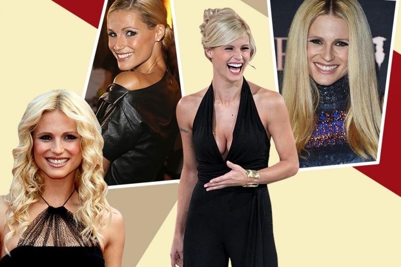 Michelle Hunziker: colore capelli, trucco e i beauty look più belli