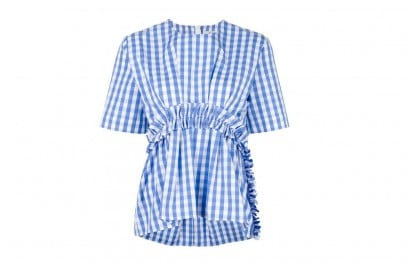 msgm-top-gingham