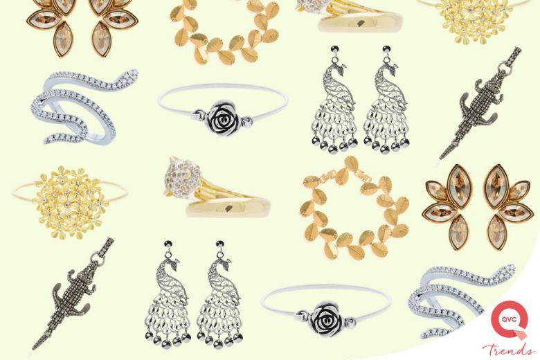 Animali e fiori: i gioielli a tema per la Primavera/Estate 2017