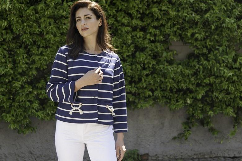 """La tendenza """"stripes"""" per la PE 2017 interpretata da Carla Ferroni"""