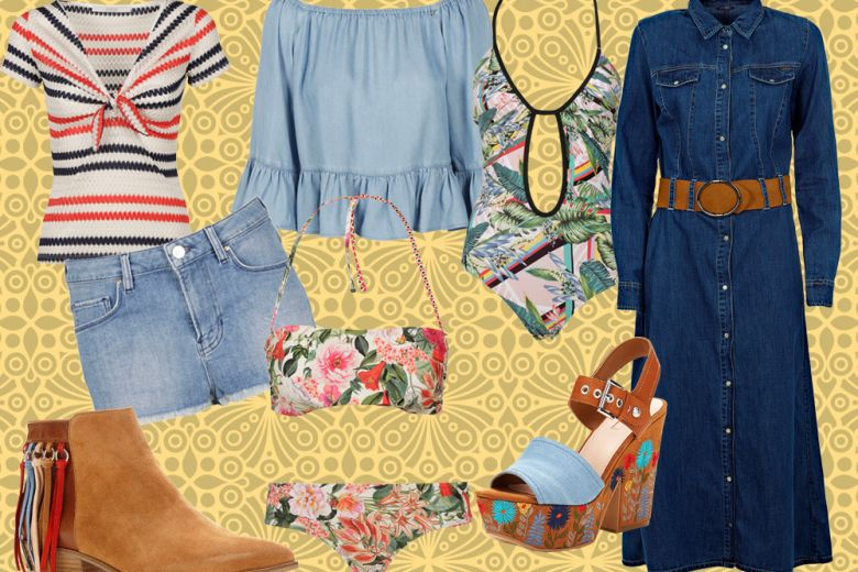 Stile boho-chic: i must have per la primavera estate 2017