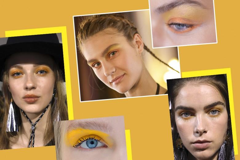 Ombretto giallo: per un make up estivo e vitaminico