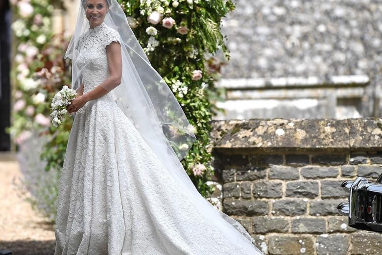 Pippa Middleton sposa con un abito da principessa