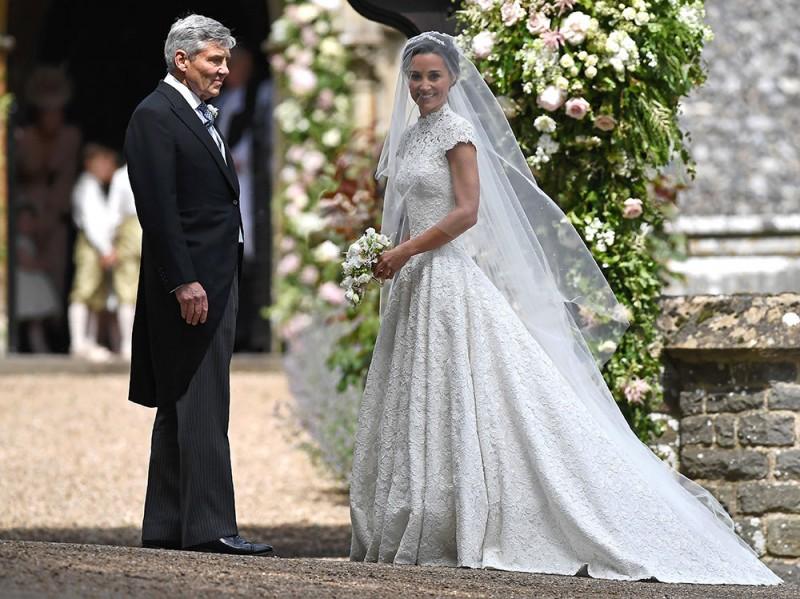 Matrimonio Di Pippa : Pippa middleton sposa con un abito da principessa grazia