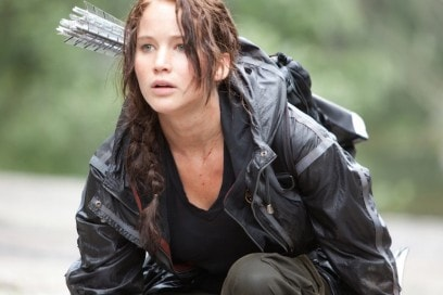 THE HUNGER GAMES, Jennifer Lawrence, 2012. ph: Murray Close/©Lionsgate/Courtesy Everett Collection