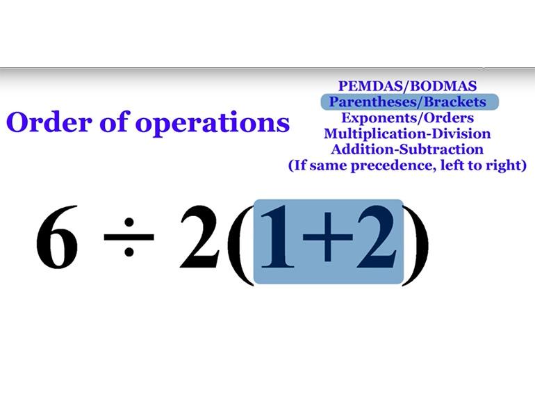 problema matematico parentesi