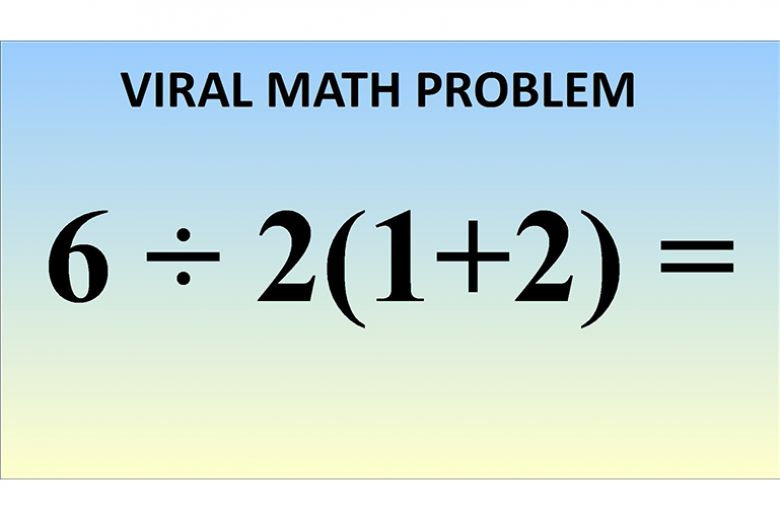 Sapete risolvere questa operazione? Il quesito di matematica diventa virale