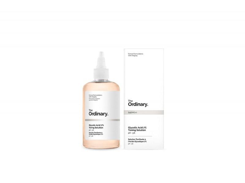 siero the ordinary acido glicolico prodotti viso pelle levigata purificata perfetta giovane