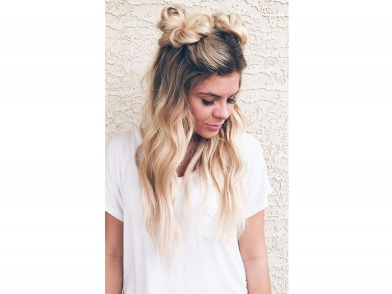 space buns doppio chignon tumblr (10)