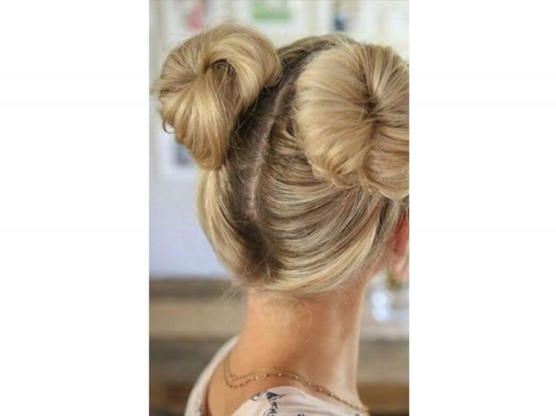 space buns doppio chignon tumblr (2)