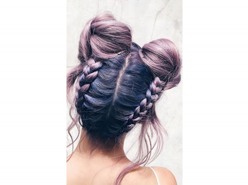 space buns doppio chignon tumblr (6)