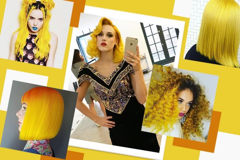 Trend capelli gialli: i look più glam da copiare