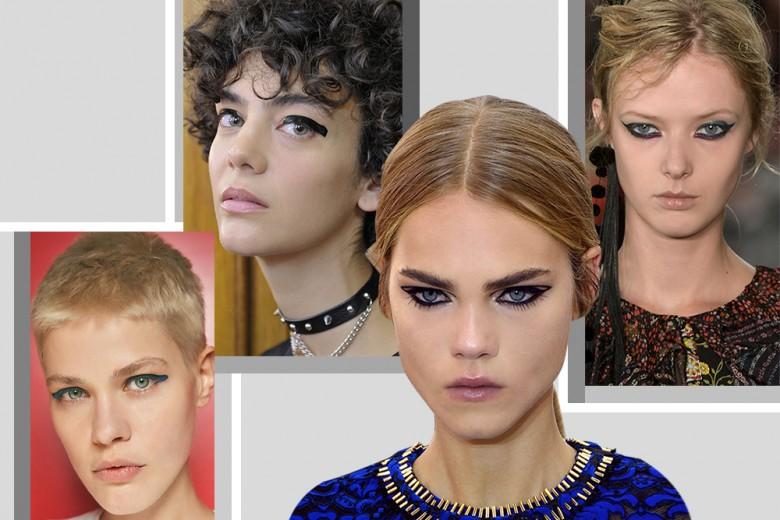 Trucco occhi grafico: i look da provare adesso