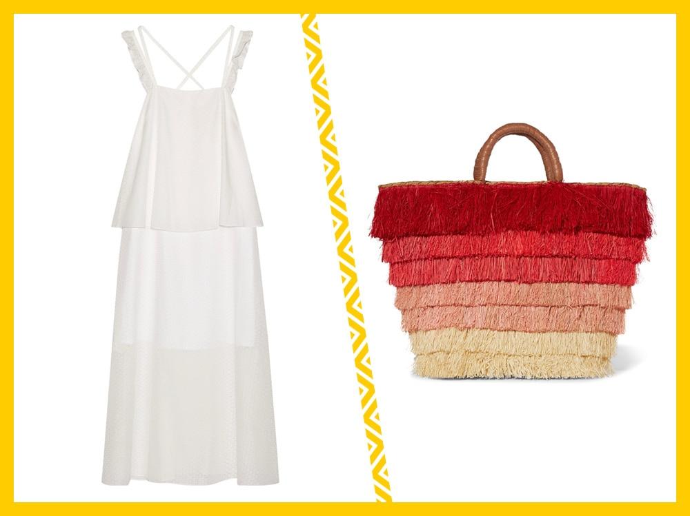 01_abito lungo con borsa da spiaggia
