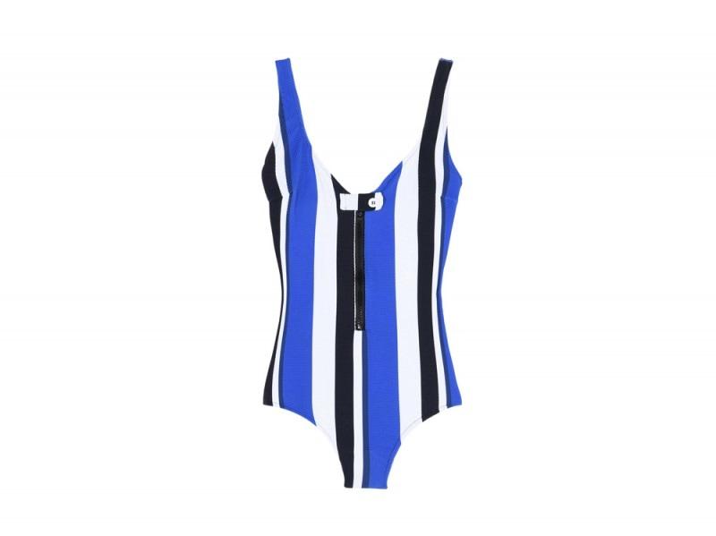 Bianca-Balti-YOOX-costume-righe-blu