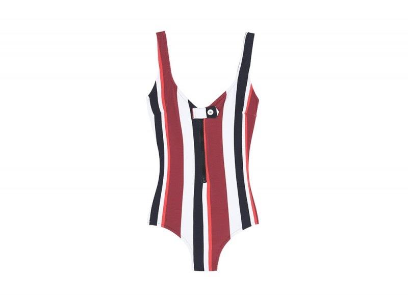 Bianca-Balti-YOOX-costume-righe-verticali
