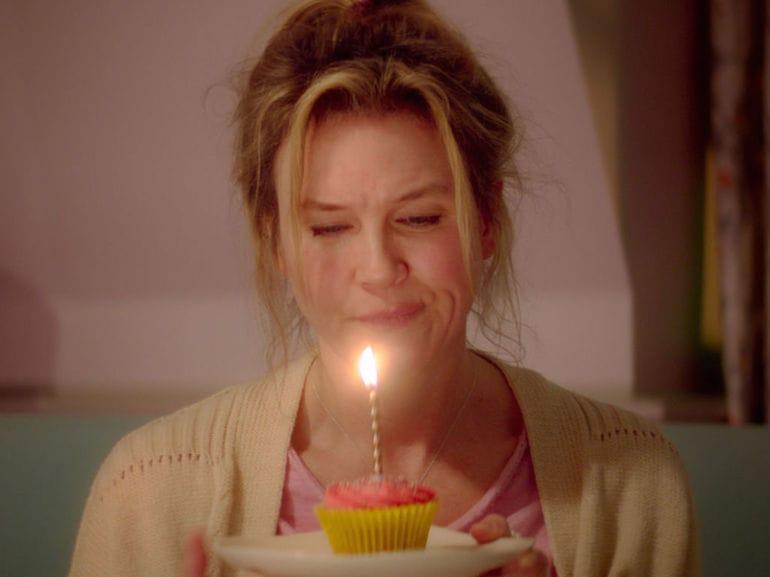 Bridget Jones compleanno mobile