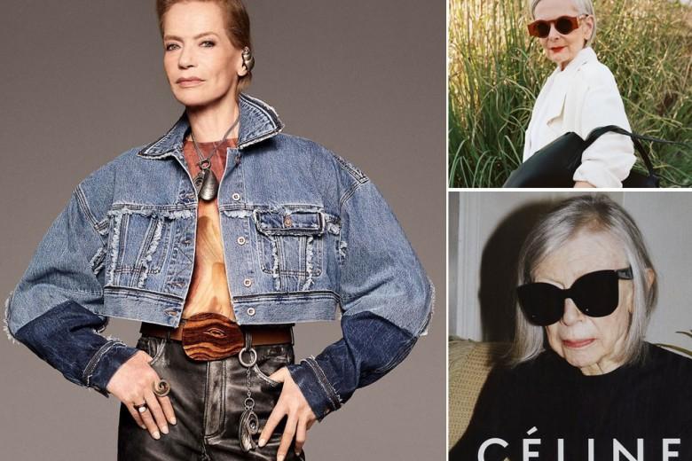 """""""Silver sirens"""": la carica delle modelle over 70"""