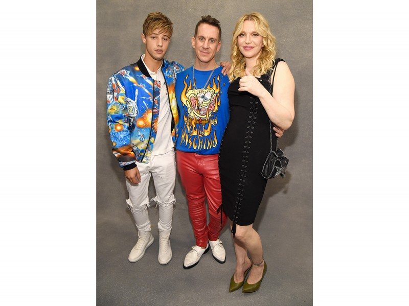 Cameron-Dallas;-Jeremy-Scott;-Courtney-Love