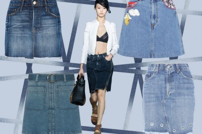 Denim mania: 10 gonne in jeans per l'estate