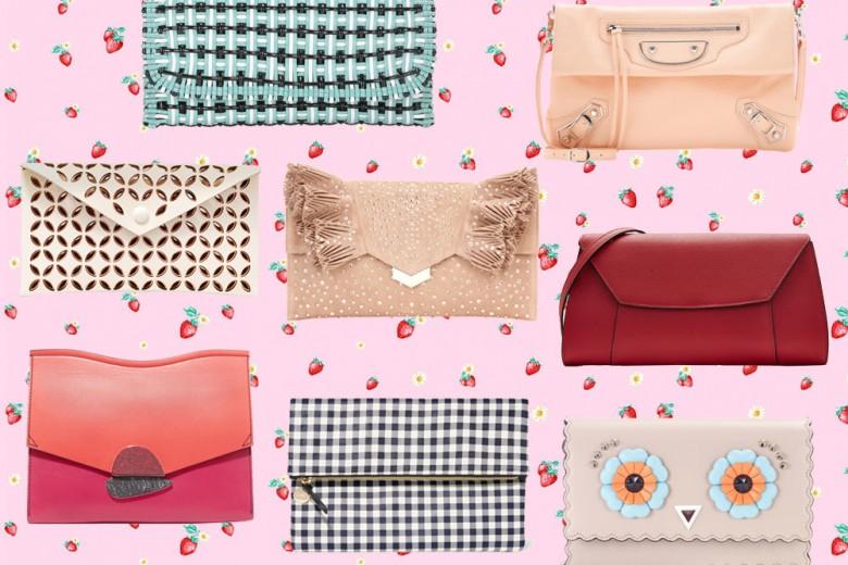 """Envelope bags: il trend estivo delle """"borse a busta"""""""