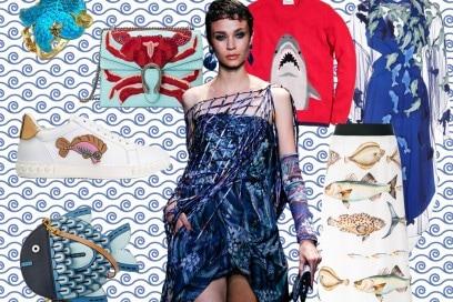 In fondo al mare: capi e accessori a tema marino per l'estate 2017