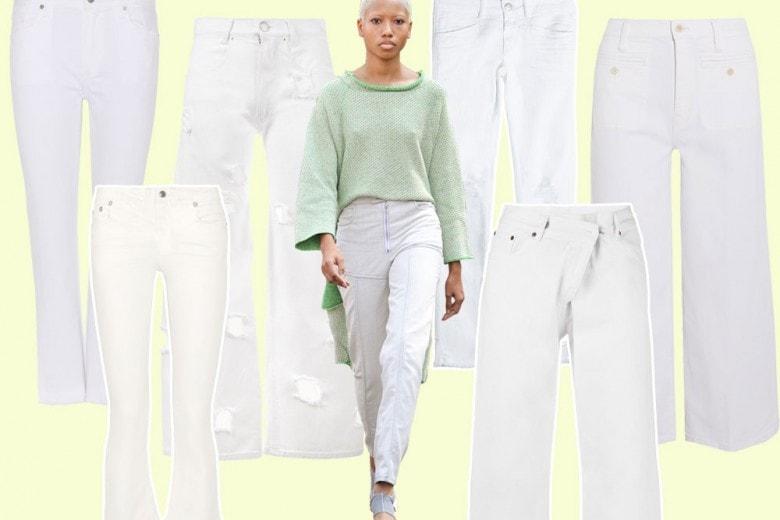 White denim: i jeans bianchi sono tendenza