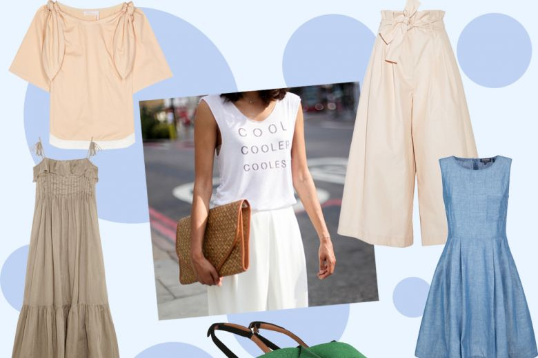 "Gli abiti e i look ""anti-caldo"" per l'estate in città"