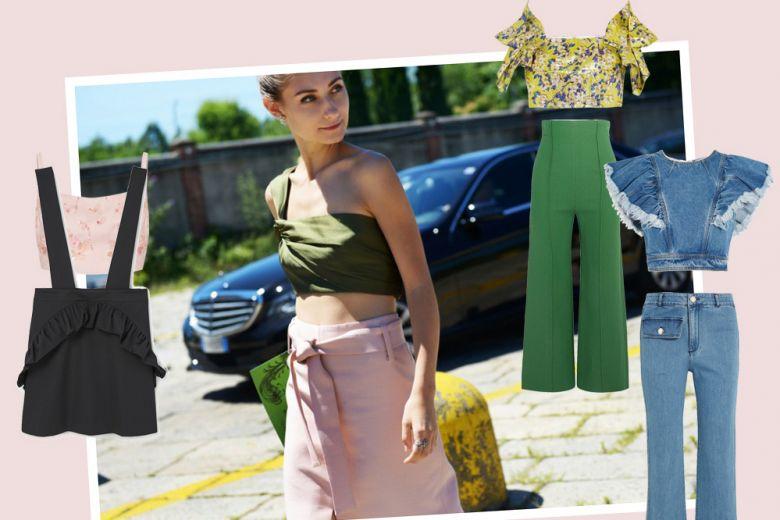 Top cropped: 10 outfit per abbinarlo con stile