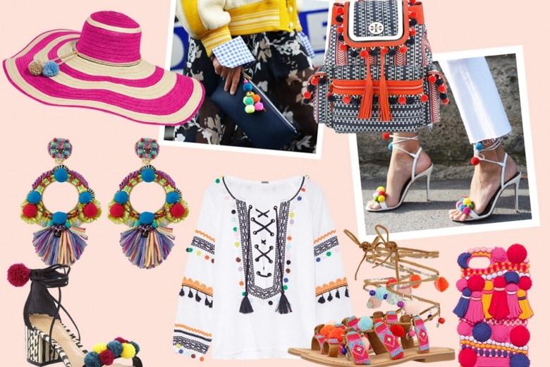Pompon mania: l'estate diventa multicolor!