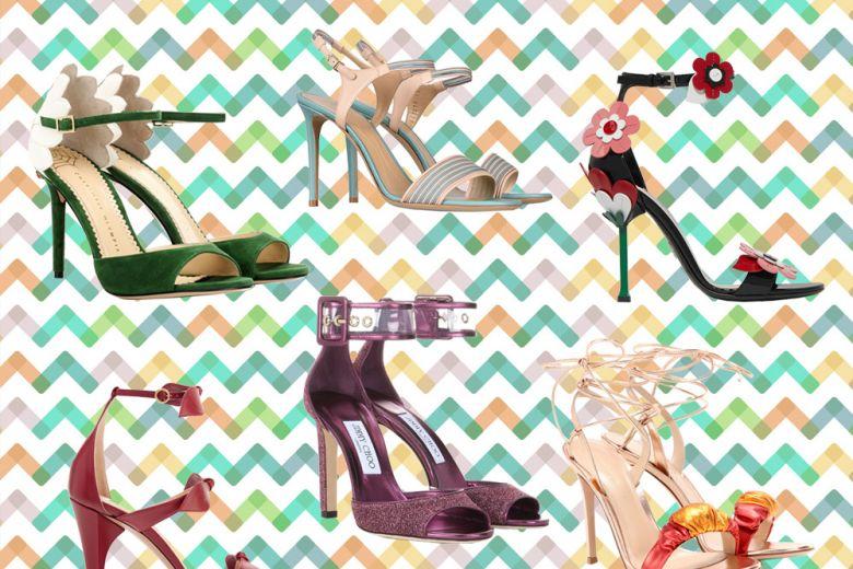 I sandali con tacco alto più cool dell'estate
