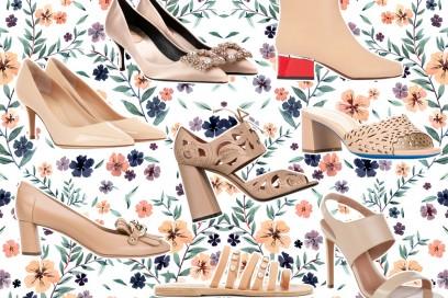 Scarpe color cipria (o nude): i modelli per l'estate 2017