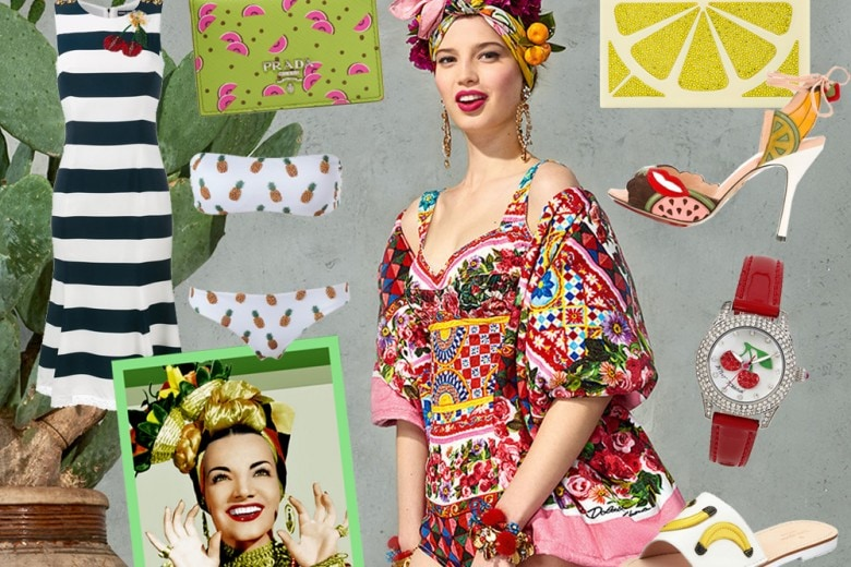 """Fashion Fruit Salad: la moda """"tutti frutti"""" per l'estate 2017"""