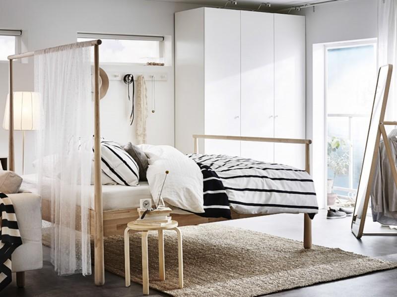Ikea Letto Matrimoniale Baldacchino.Ikea Letti I Modelli Piu Belli Grazia