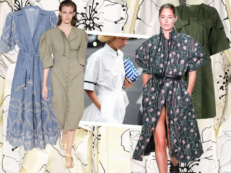 Dress code estivo: gli abiti chemisier