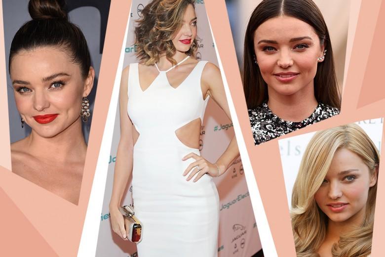 Miranda Kerr capelli: gli hairstyle più belli