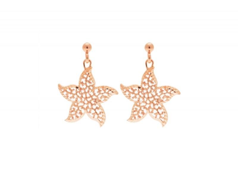 Ponzalli-Orecchini-pendenti-in-argento-925-placcato-con-design-a-fiore-SU-QVC