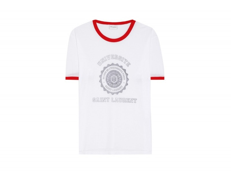 SAINT-LAURENT-TSHIRT-COLLEGE