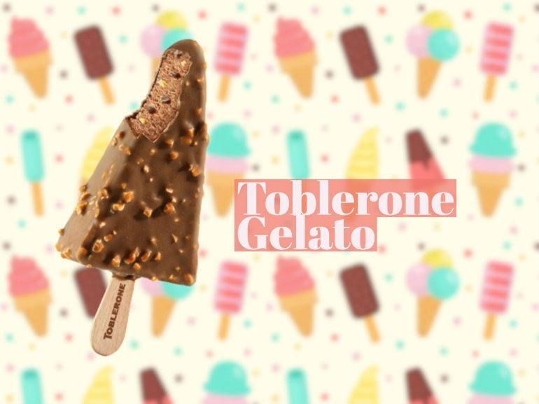 Toblerone Gelato