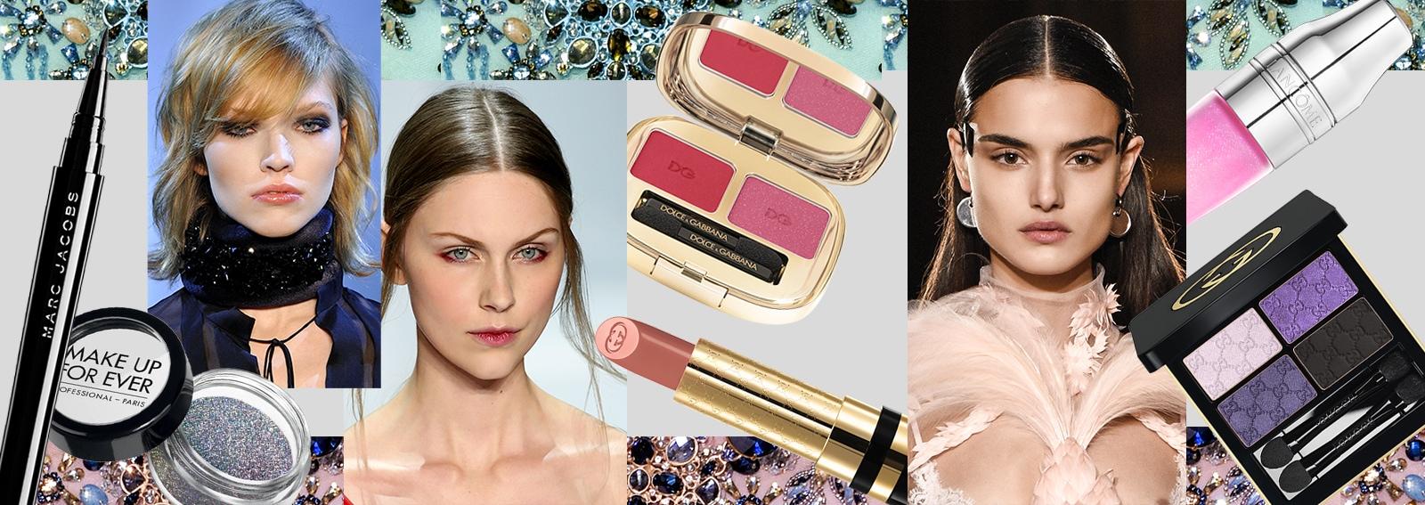 beauty look da sera trucco make up intenso elegante collage_desktop
