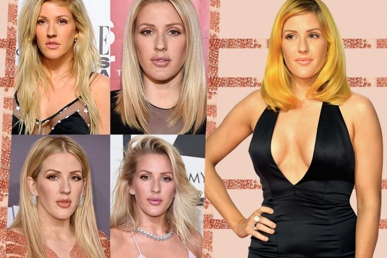 Ellie Goulding capelli: tutti i suoi migliori hair style e le acconciature