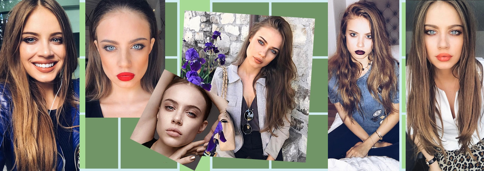 Xenia Tchoumitcheva make up: i migliori beauty look