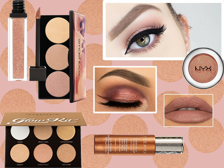 Trucco rose gold: la tendenza make up del momento